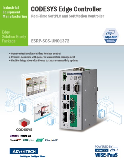 2018_Real-Time SoftPLC and SoftMotion Controller_ESRP-SCS-UNO1372